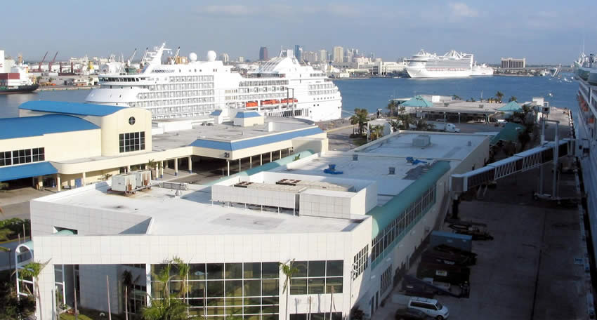 Fort Lauderdale cruise port cruise ships
